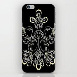 swirls II iPhone Skin