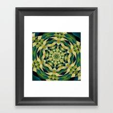 Blooming Flower Of Life Framed Art Print