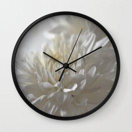 Chrysanthemum Textures Wall Clock