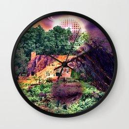 BENEATH THE DESERT MOON Wall Clock
