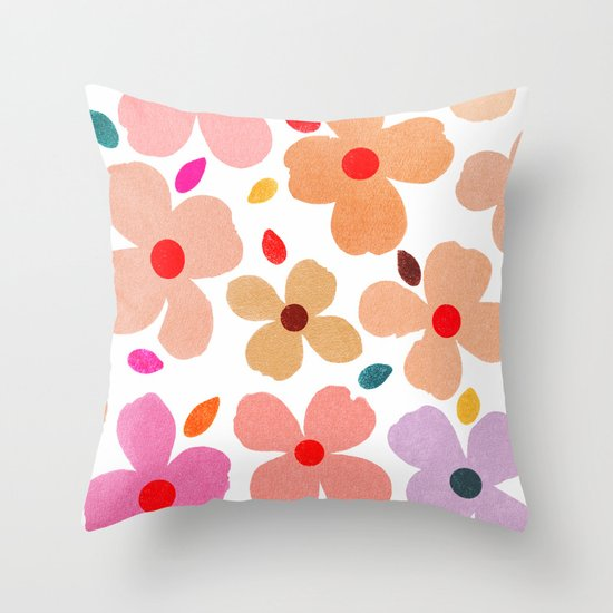 dogwood 3 Throw Pillow