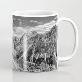 mountains, the Dolomites in South Tyrol Coffee Mug