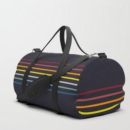 Nagamasa - Classic Retro Stripes Duffle Bag