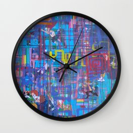 Nothing Lasts Forever All is Eternal Wall Clock