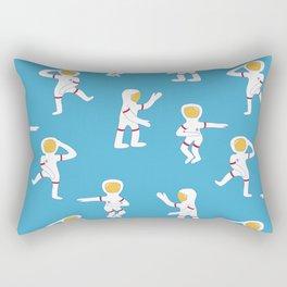 Dancing astronauts Rectangular Pillow