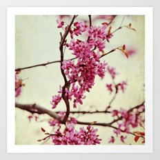 Wedding of Spring Art Print