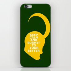 Keep Calm and Submit iPhone & iPod Skin