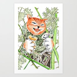Mouse Adventures 1 Art Print