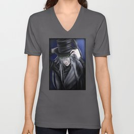 Undertaker Hat Tip Unisex V-Neck