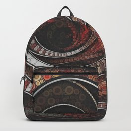 Beautiful Striped Fractal Circles, the Thousand and One Rings of the Circus Backpack