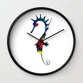 Marine Solitude Wall Clock