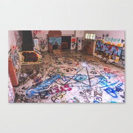 Båndø Canvas Print