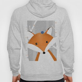 Fox and snail Hoody