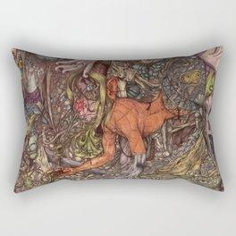 Born Rectangular Pillow