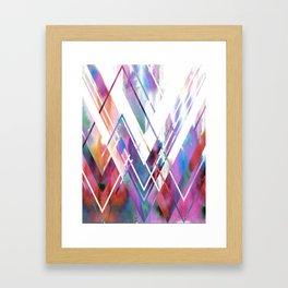 JAX Chevron Framed Art Print