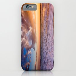 Surf City Sunsets   9/9/15   Huntington Beach California iPhone Case