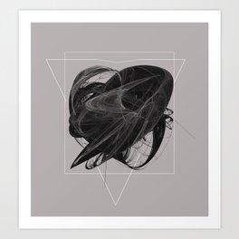 Work on Entropy Art Print