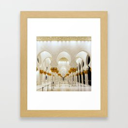 On and On and... Framed Art Print