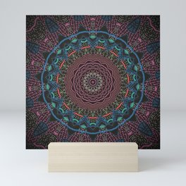 Love Wins Again Mandala Mini Art Print