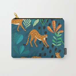 Cheetah pattern 001 Carry-All Pouch