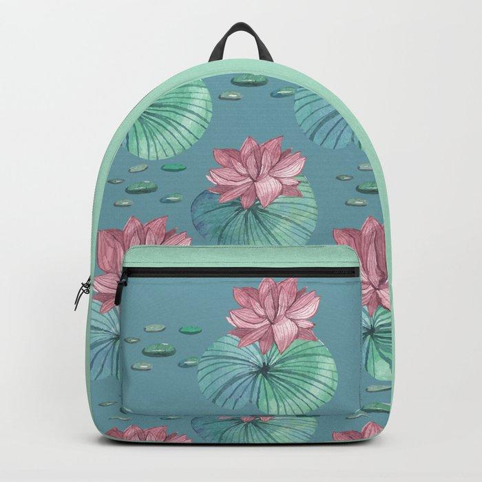 LOTUS FLOWERS Backpack