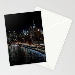 Manhattan Skyline East Stationery Cards