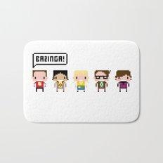 The Big Bang Theory Pixel Characters Bath Mat