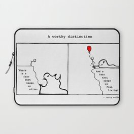 A Worthy Distinction Laptop Sleeve