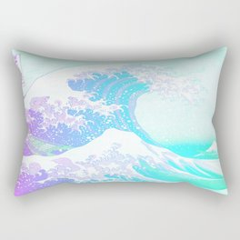 The Great Wave Unicorn Rectangular Pillow
