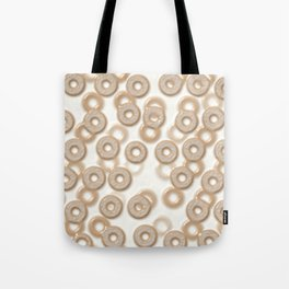 Funny Milk And Mixed Cereal Pattern Tote Bag
