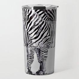 African Zebras Travel Mug