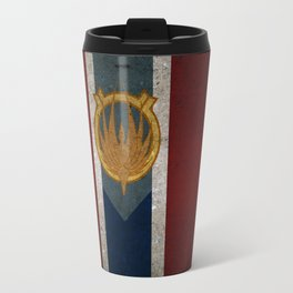 The Banner of Caprica Travel Mug