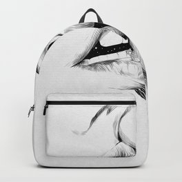 Universe kiss. Backpack