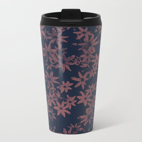 Flowers at Dawn Metal Travel Mug