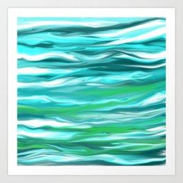 Tides Art Print