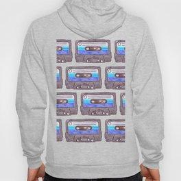 Cassette Pattern *Dark Blue Hoody