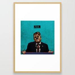 Leader(SHIT) II Framed Art Print
