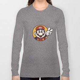 Mario Peace Long Sleeve T-shirt
