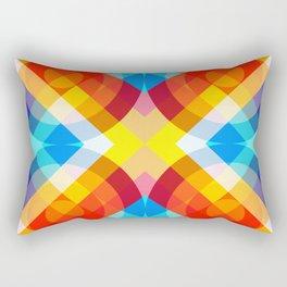 Retro Rocket 20 Rectangular Pillow
