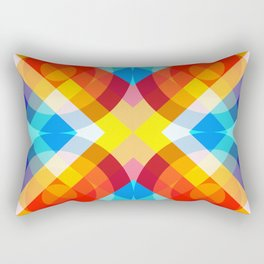 Retro Rocket 20 Rectangular Pillow