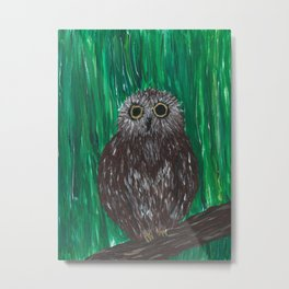 Zippy, The Owl Metal Print