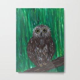 Zippy, The Owl Metal Print