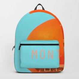 MONTREAL PASTEL Orange Julep Backpack