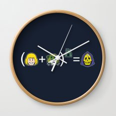 He-Math Wall Clock