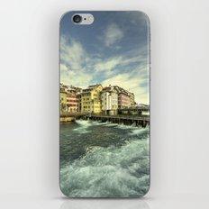 Weir of Lucerne iPhone & iPod Skin