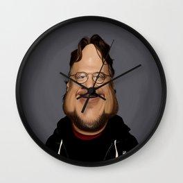 Guillermo Del Toro Wall Clock