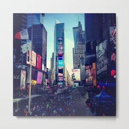 Times Square Metal Print