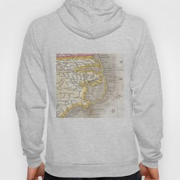 Vintage Map of The Outer Banks (1818) Hoody
