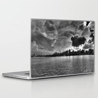gotham Laptop & iPad Skins featuring Gotham by Sonic Highlark