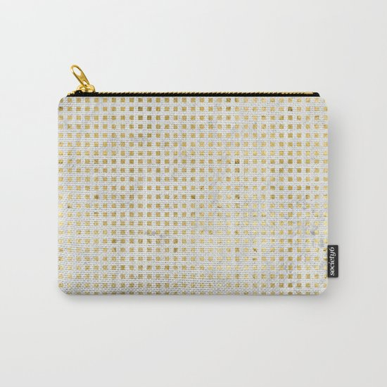 gOld squares Carry-All Pouch
